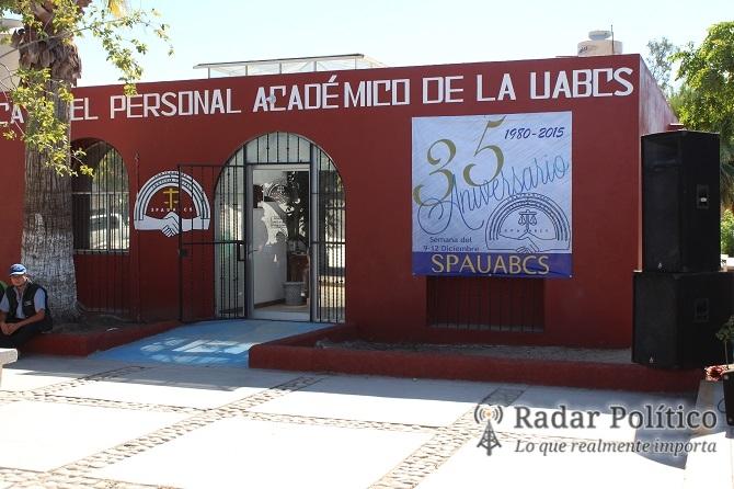 Resultado de imagen para logo de Sindicato del Personal Académico (SPAUABCS)